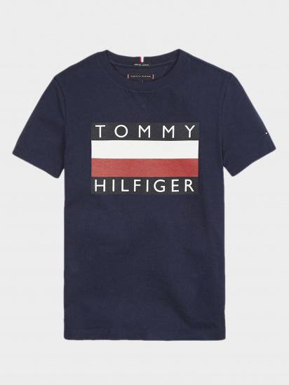 Футболка Tommy Hilfiger модель KB0KB05547-CBK — фото - INTERTOP
