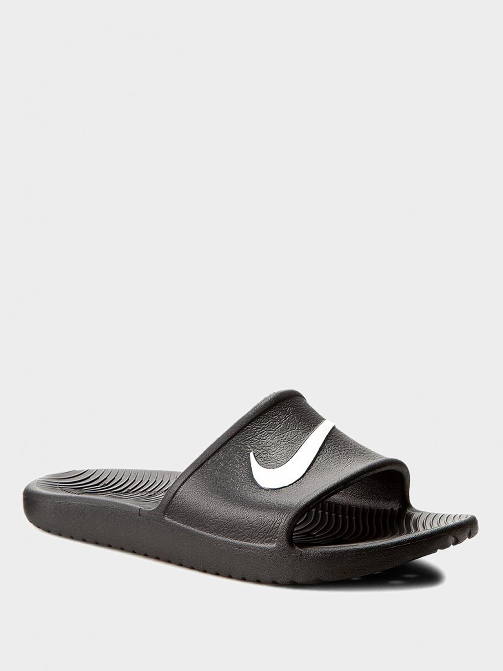 Шлёпанцы для мужчин NIKE Men's Kawa Shower Slide 832528-001 размерная сетка обуви, 2017