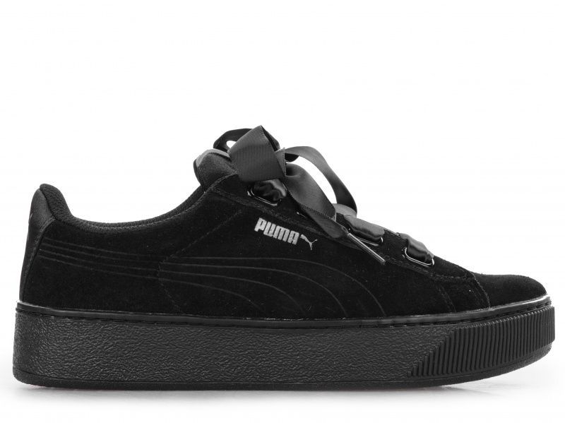 Кросівки для жінок PUMA Puma Vikky Platform Ribbon S CJ106 розмірна сітка  взуття 44005d3e0bbd5
