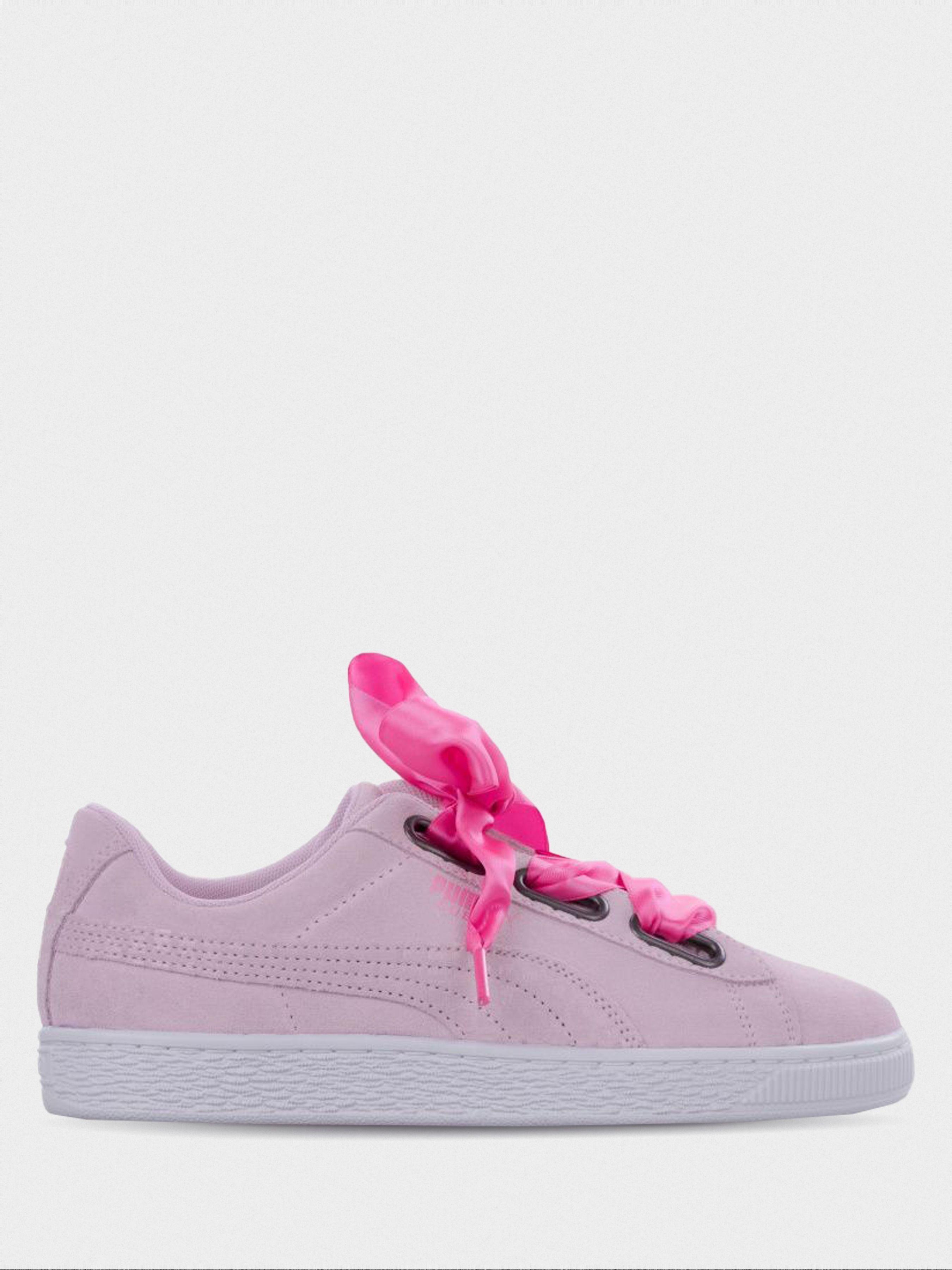Купить Кроссовки женские PUMA Suede Heart Street 2 Wn s CJ111, Розовый