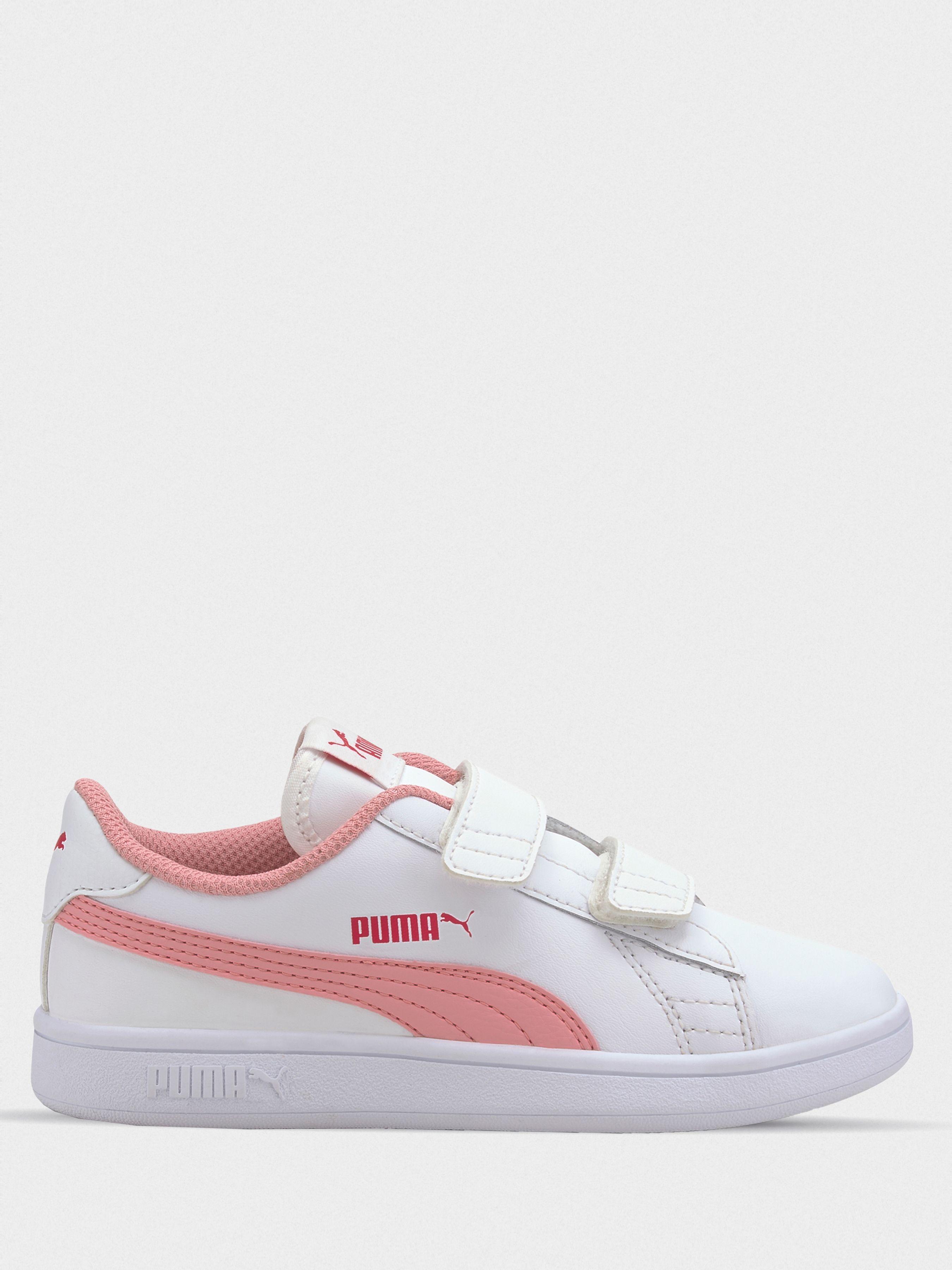 Купить Кеды детские PUMA Puma Smash v2 L V PS CK79, Розовый