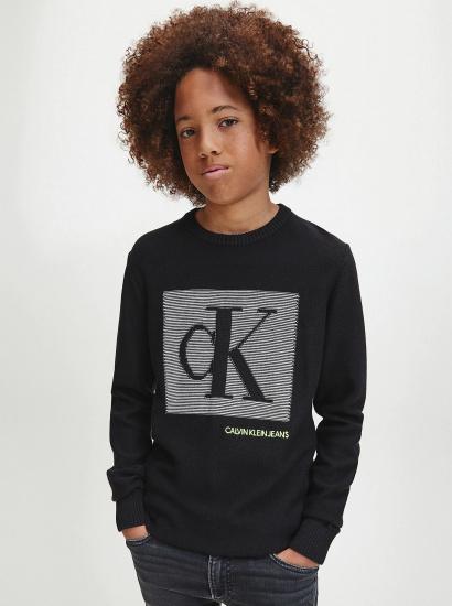 Пуловер Calvin Klein модель IB0IB00538-BEH — фото - INTERTOP
