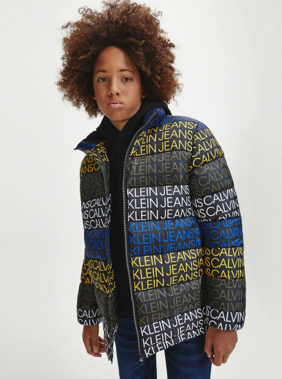 Зимова куртка Calvin Klein модель IB0IB00560-0GN — фото - INTERTOP