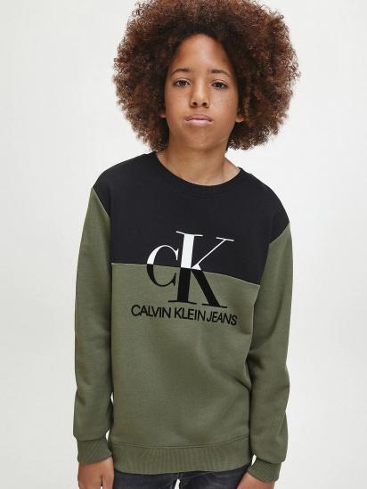 Світшот Calvin Klein модель IB0IB00566-LFH — фото - INTERTOP