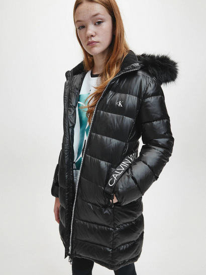 Пуховик Calvin Klein модель IG0IG00596-BEH — фото - INTERTOP