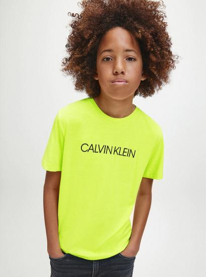 Футболка Calvin Klein модель IB0IB00347-ZAA — фото - INTERTOP