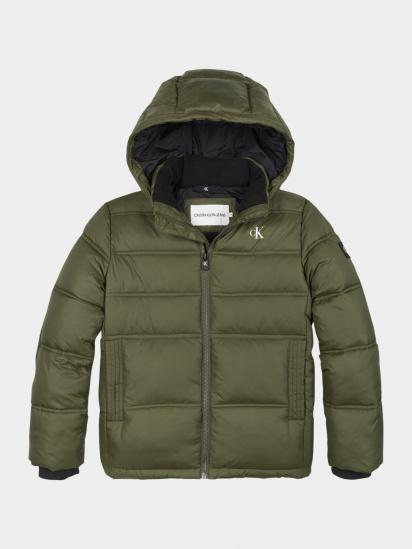 Зимова куртка Calvin Klein модель IB0IB00557-LFH — фото - INTERTOP
