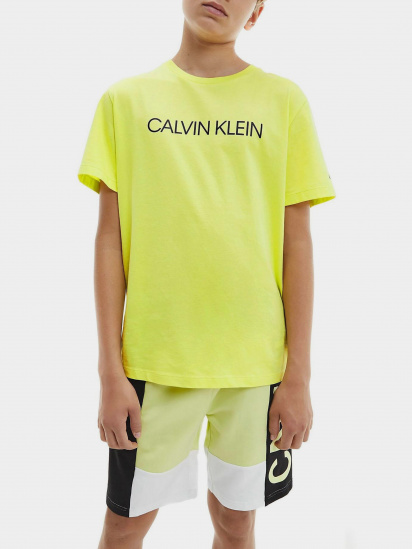 Футболка Calvin Klein модель IB0IB00347-ZJB — фото - INTERTOP