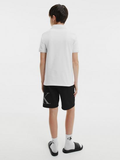 Поло з коротким рукавом Calvin Klein модель IB0IB00733-YAF — фото 2 - INTERTOP