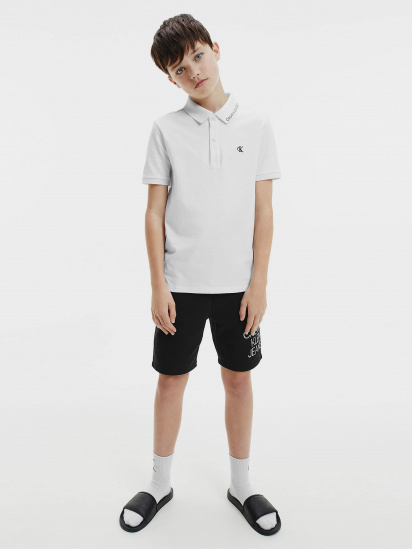 Поло з коротким рукавом Calvin Klein модель IB0IB00733-YAF — фото 4 - INTERTOP