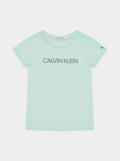 Футболка Calvin Klein модель IG0IG00380-LZY — фото - INTERTOP