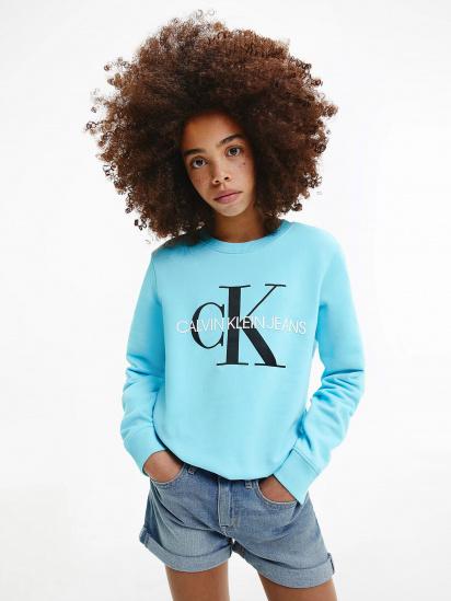 Світшот Calvin Klein модель IU0IU00069-CU4 — фото 4 - INTERTOP