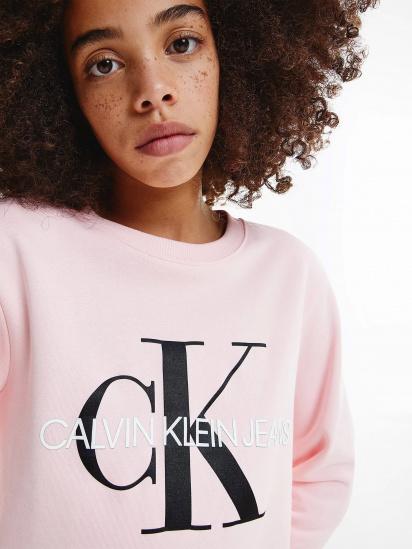 Світшот Calvin Klein модель IU0IU00069-TIQ — фото 4 - INTERTOP