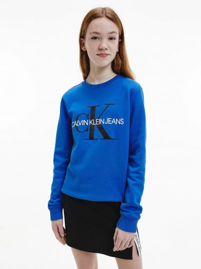 Світшот Calvin Klein модель IU0IU00069-C66 — фото 6 - INTERTOP