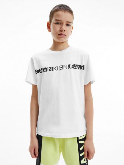 Футболка Calvin Klein модель IB0IB00447-YAF — фото - INTERTOP