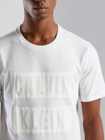 Футболка Calvin Klein модель 00GMS1K140-100 — фото 3 - INTERTOP