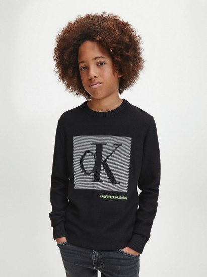 Пуловер Calvin Klein модель CKL67 — фото - INTERTOP
