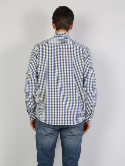 Сорочка з довгим рукавом Colin's модель CL1041453GRN — фото 2 - INTERTOP