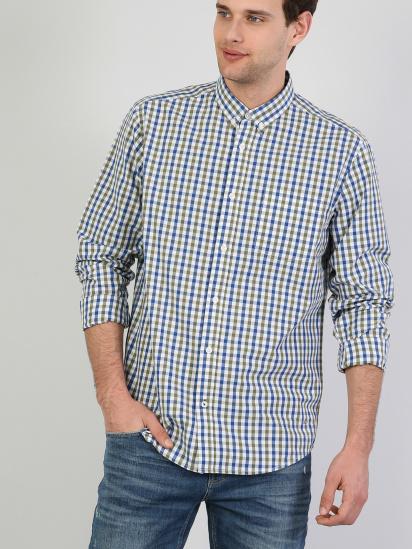 Сорочка з довгим рукавом Colin's модель CL1041453GRN — фото - INTERTOP