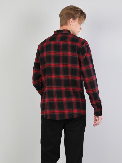 Сорочка з довгим рукавом Colin's модель CL1044205RED — фото 2 - INTERTOP