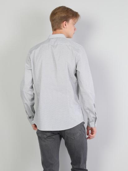 Сорочка з довгим рукавом Colin's модель CL1044321WHT — фото 2 - INTERTOP