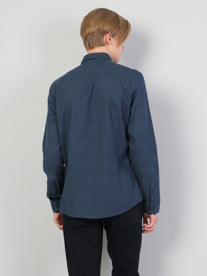 Сорочка з довгим рукавом Colin's модель CL1045321NAV — фото 2 - INTERTOP