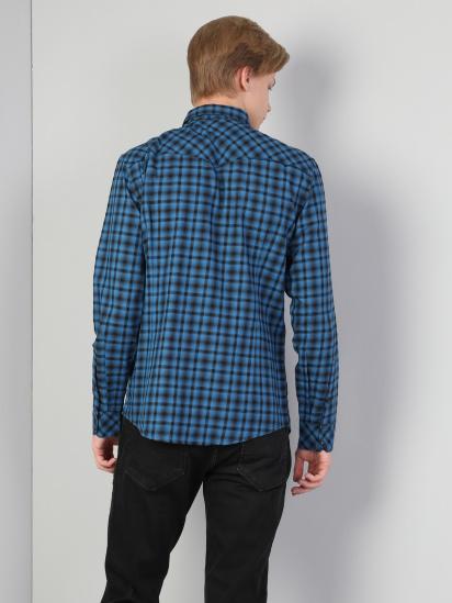 Сорочка з довгим рукавом Colin's модель CL1045609EBL — фото 2 - INTERTOP