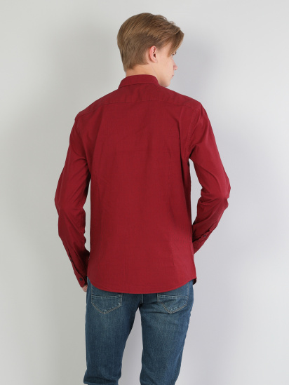 Сорочка з довгим рукавом Colin's модель CL1046092RED — фото 2 - INTERTOP