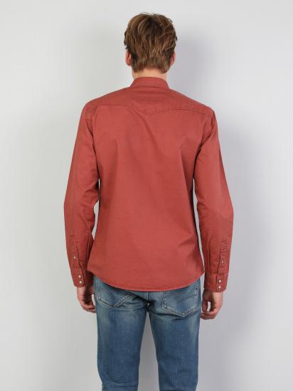 Сорочка з довгим рукавом Colin's модель CL1046446BRC — фото 2 - INTERTOP