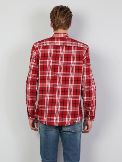 Сорочка з довгим рукавом Colin's модель CL1046449RED — фото 2 - INTERTOP