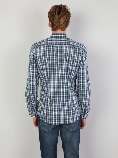 Сорочка з довгим рукавом Colin's модель CL1047131GRN — фото 2 - INTERTOP