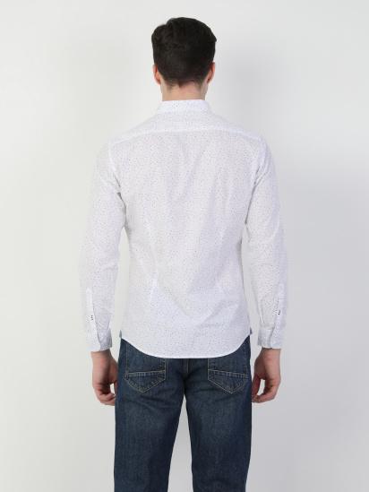 Сорочка з довгим рукавом Colin's модель CL1047462WHT — фото 2 - INTERTOP