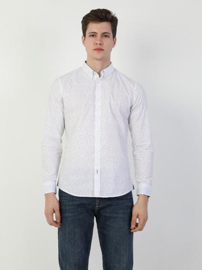 Сорочка з довгим рукавом Colin's модель CL1047462WHT — фото 3 - INTERTOP