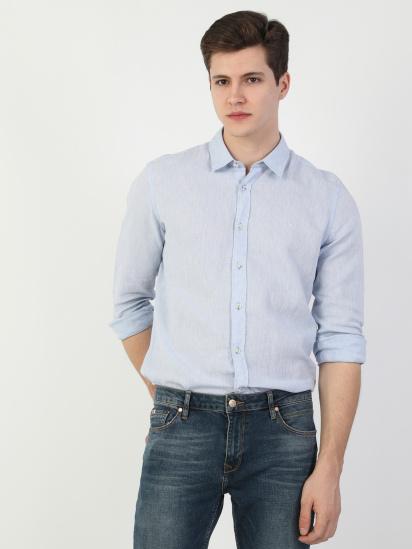 Сорочка з довгим рукавом Colin's модель CL1048515BLE — фото 4 - INTERTOP