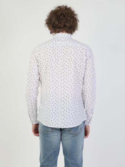 Сорочка з довгим рукавом Colin's модель CL1049052WHT — фото 2 - INTERTOP