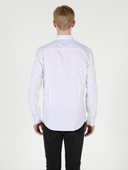 Сорочка з довгим рукавом Colin's модель CL1050034WHT — фото 2 - INTERTOP