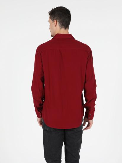 Сорочка з довгим рукавом Colin's модель CL1050210RED — фото 2 - INTERTOP