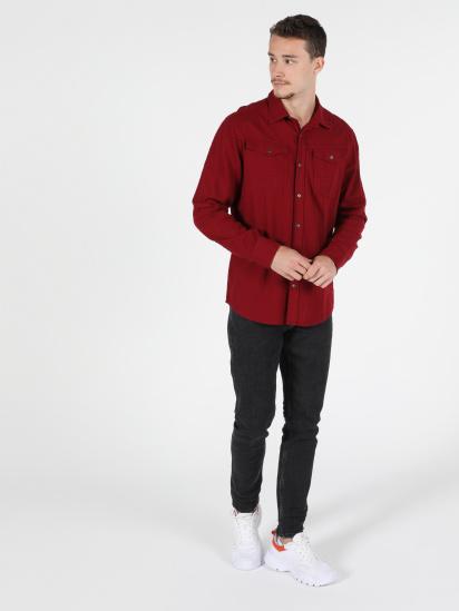 Сорочка з довгим рукавом Colin's модель CL1050210RED — фото 3 - INTERTOP