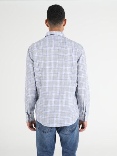 Сорочка з довгим рукавом Colin's модель CL1050717GRA — фото 2 - INTERTOP