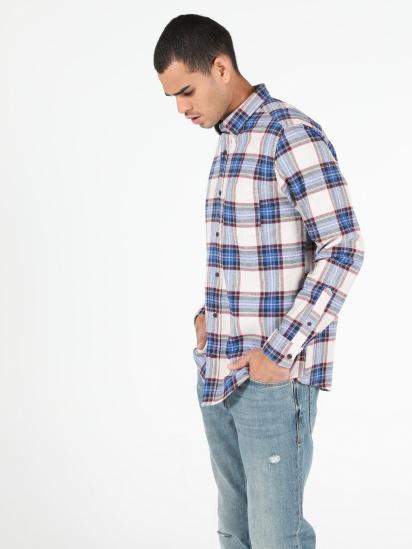 Сорочка з довгим рукавом Colin's модель CL1051392BEI — фото - INTERTOP