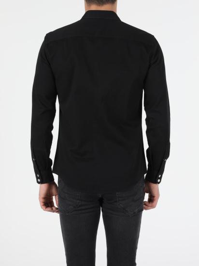 Сорочка з довгим рукавом Colin's модель CL1051779BLK — фото 2 - INTERTOP