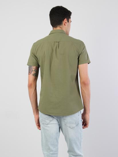 Сорочка з коротким рукавом Colin's модель CL1032599GRN — фото 2 - INTERTOP