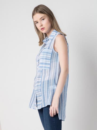 Сорочка з коротким рукавом Colin's модель CL1026451BLE — фото - INTERTOP