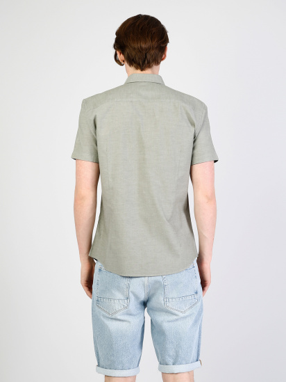 Сорочка з коротким рукавом Colin's модель CL1033799FGR — фото 2 - INTERTOP