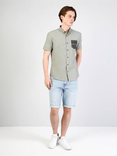 Сорочка з коротким рукавом Colin's модель CL1033799FGR — фото 3 - INTERTOP