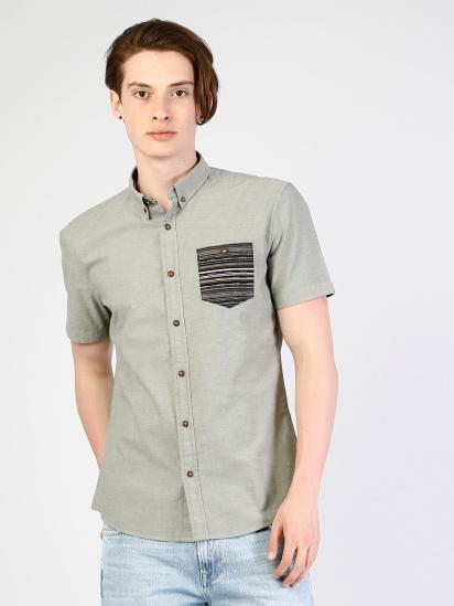 Сорочка з коротким рукавом Colin's модель CL1033799FGR — фото 4 - INTERTOP