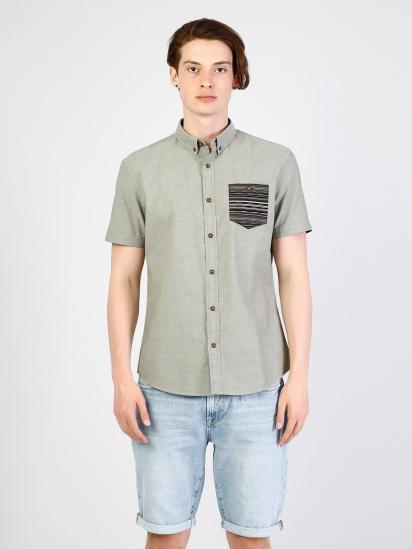 Сорочка з коротким рукавом Colin's модель CL1033799FGR — фото - INTERTOP