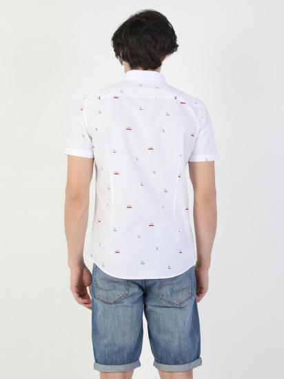 Сорочка з коротким рукавом Colin's модель CL1041902WHT — фото 2 - INTERTOP