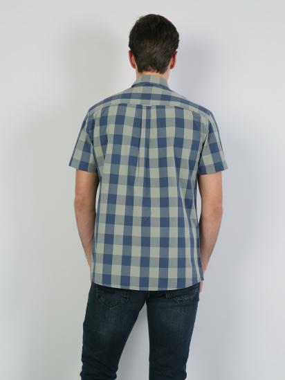Сорочка з коротким рукавом Colin's модель CL1042428GRN — фото 2 - INTERTOP