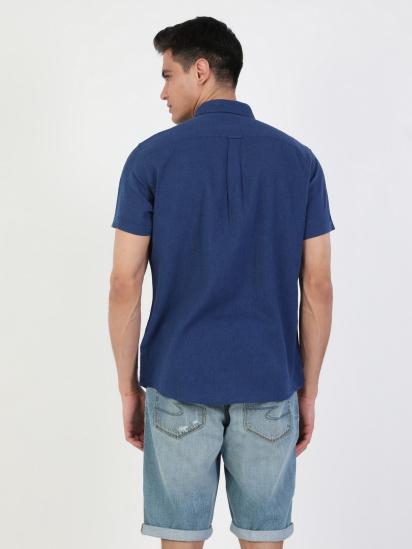 Сорочка з коротким рукавом Colin's модель CL1043017NAV — фото 2 - INTERTOP